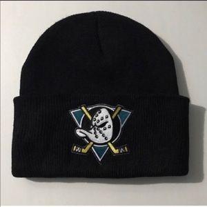 78fb316b21c98 Other - Vintage Anaheim Mighty Ducks 90s beanie hat cap